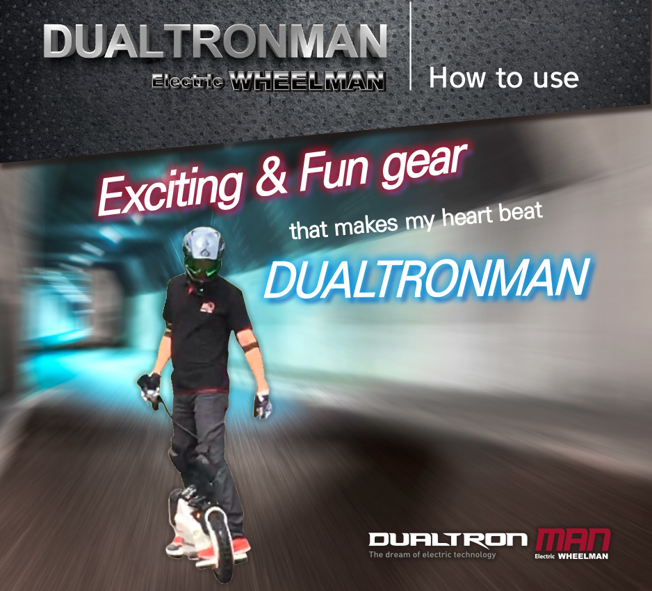 Dualtron Man by Minimotors